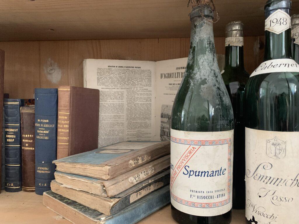 Bottiglie Antiche Palazzo Del Senatore